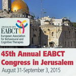 כנס The 45th Congress of the 2015 EABCT: ירושלים - ישראל